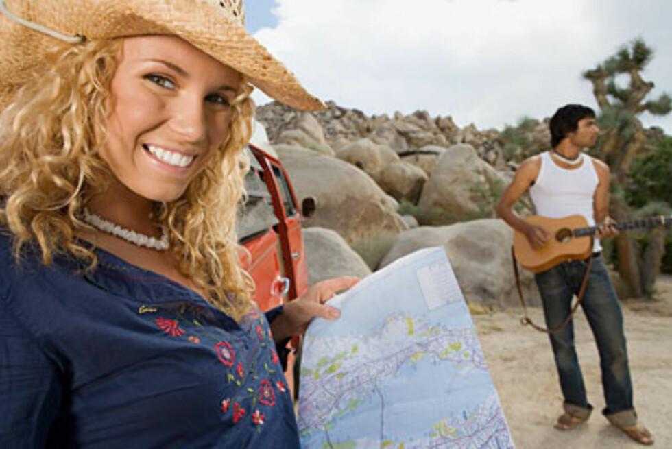 xxx Kvinner viser vei: damene bestemmer hvor turen skal gå når det er tid for ferie.