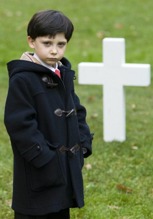 Djevelungen Damien er tilbake i The Omen - Satans sønn er fortsatt gretten. Foto: Filmbyråene