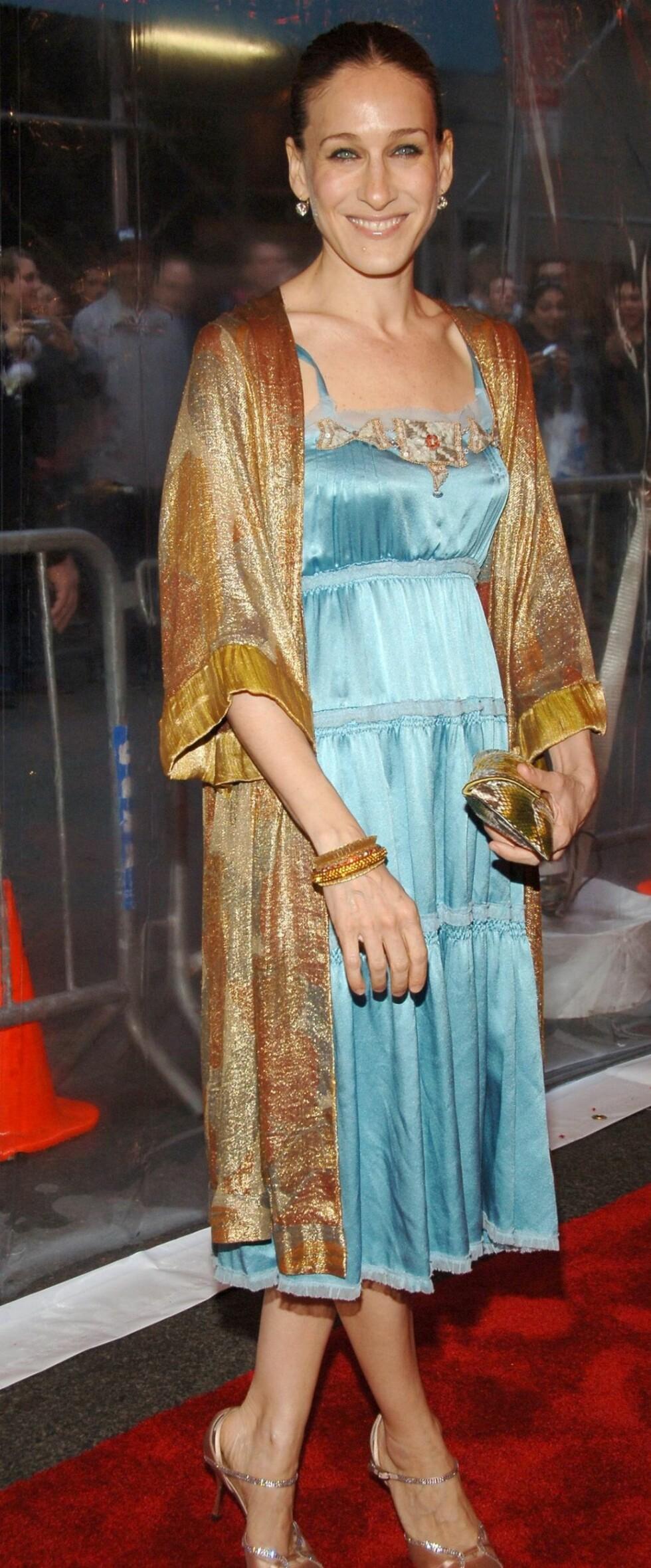 Stilikon Sarah Jessica Parker har fortsatt trendfaktor.