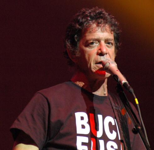Kommer: Lou Reed
