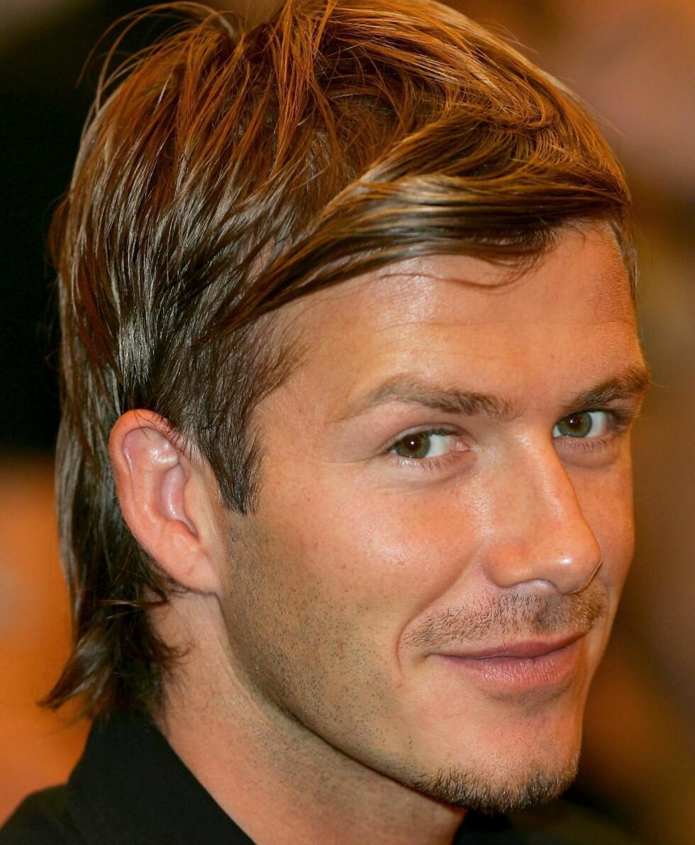 ENGLAND: David Beckham