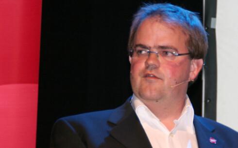 Andrew Hannevik, kommunikasjonsansvarlig i Frelsesarmeen.