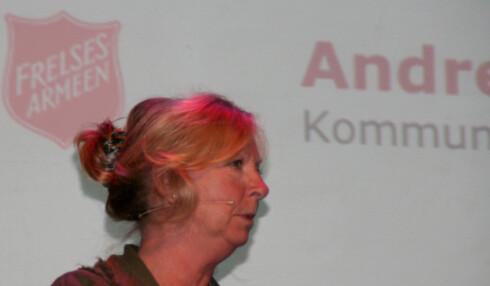 Kari Raunedokken, kommunikasjonssjef i Tine.