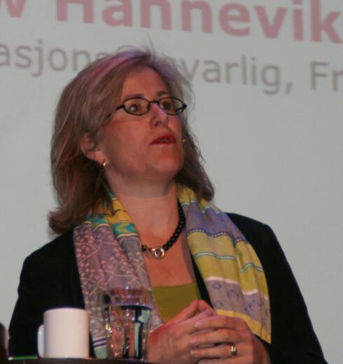 Cathrine Foss Stene, kommunikasjonsdirektør i SAS Braathens.