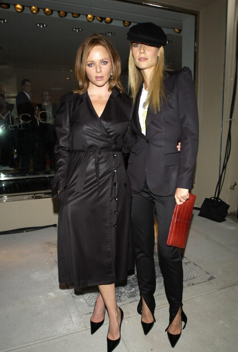 Venninnene Stella McCartney og Gwyneth Paltrow.