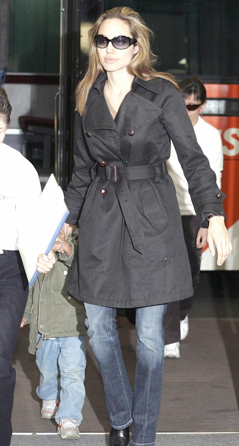 Angelina Jolie er alltid stilfull.