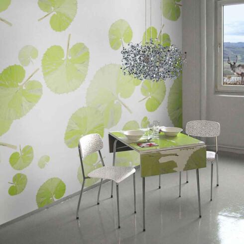 Interiøret «Leaf Green» fra Scandinavian Surface (pris på forespørsel).