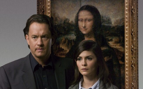 Øverst på kinotoppen troner Da Vinci-koden, med Tom Hanks og Audrey Tatou i hovedrollene.