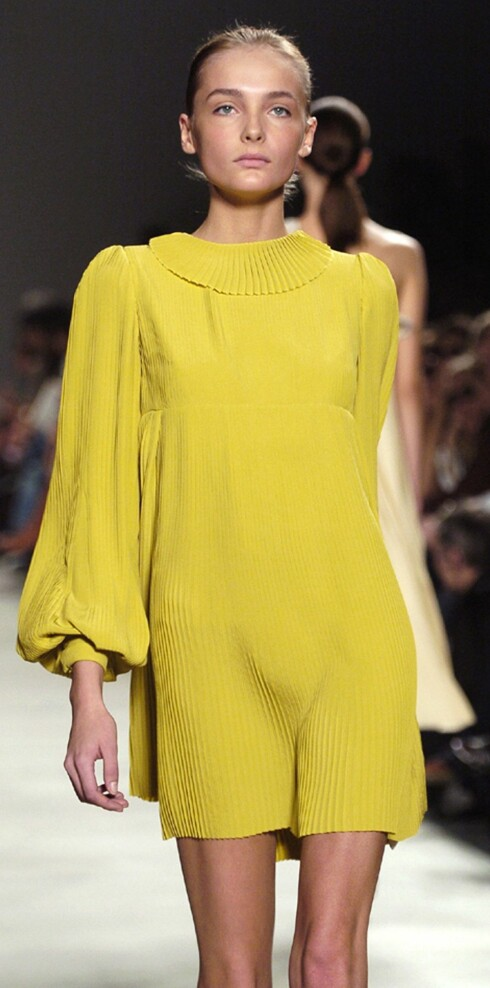 Calvin Klein vår- sommer 2006.