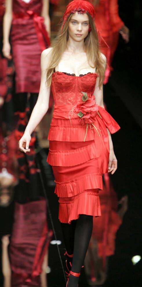 Dolce&Gabbana vår- sommer 2006.