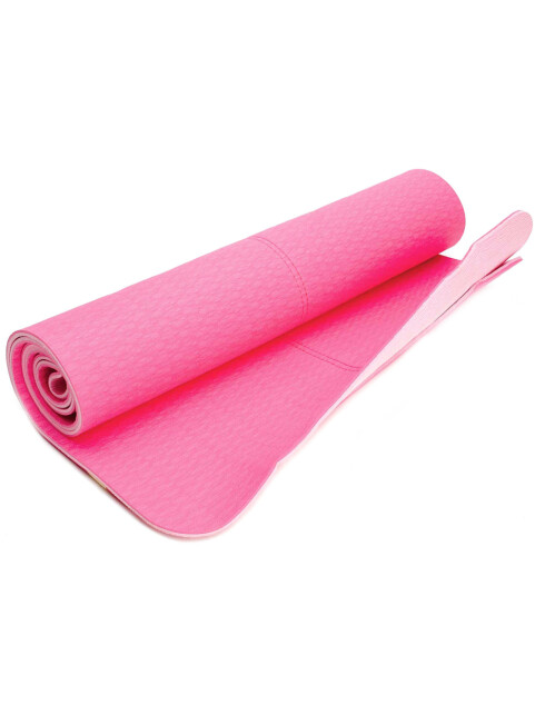 Skaff deg din personlige pilates-matte. Denne har også bærestrikk (kr 350, Nike).