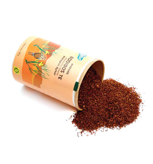 Prøv en sør-afrikansk Rooibos-te. Denne skal ha sterke helbredende krefter og gir behagelig ro. Perfekt etter en pilatestime (kr 35, Helios).