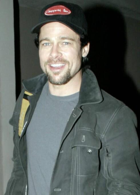 Vil ha rollen til Trond: Brad Pitt.