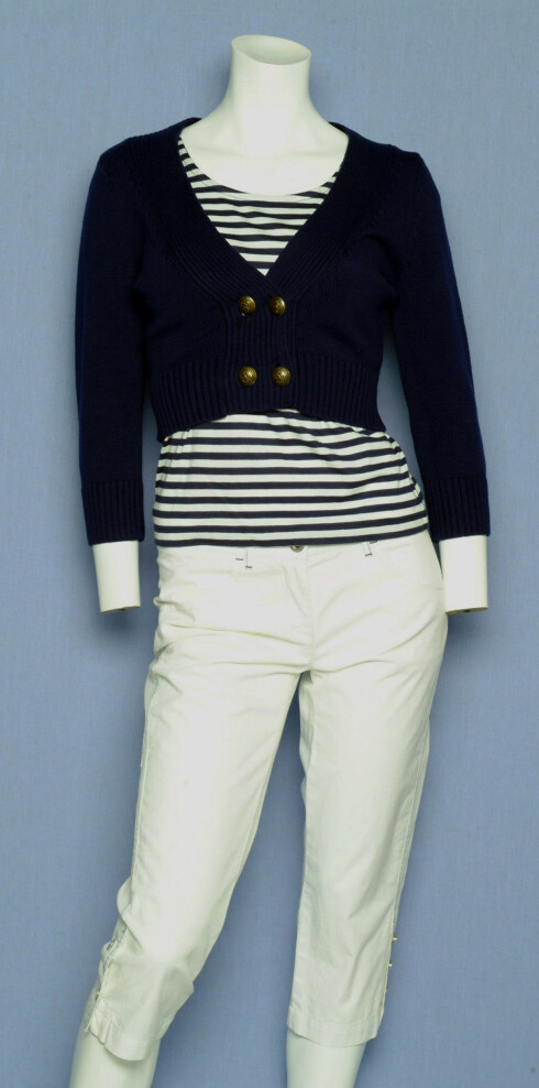Bukse (kr 400, LIndex), genser (kr350, H&M)