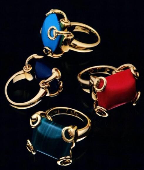 Fargeglade stener fra Gucci.
