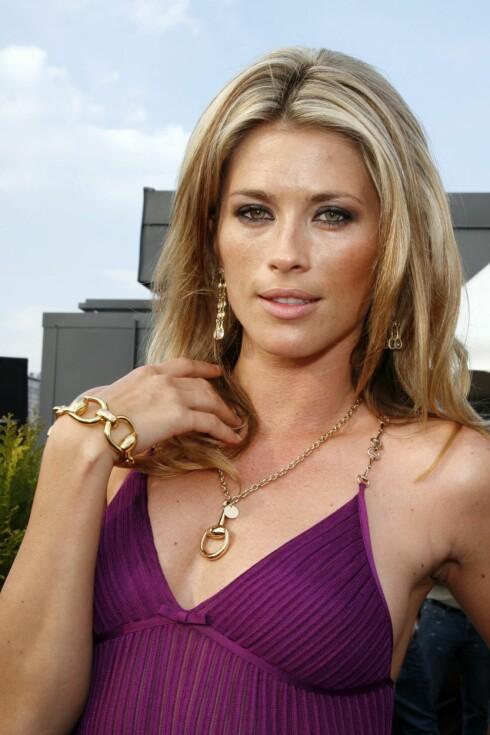 Modeller poserer med smykker fra Gucci.