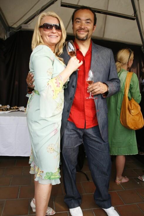 Skuespiller Mia Gundersen med sin fotografmann Marcel Lelienhof.