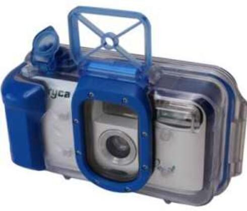 Undervannskamera som bruker god, gammeldags film. Kan brukes ned til 6 meter. Rimelig erstatning for deg som ikke vil ta med det superdyre kameraet til sjøs i ferien. (299, gadgets.no)