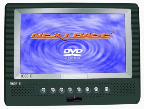 NextBase bærbar DVD-spiller (sonefri) har skjerm på 7 tommer og et batteri som varer i 3,5 timer, hvilket burde kunne ta deg gjennom et par filmer før den må lades. (1995, komplett.no)