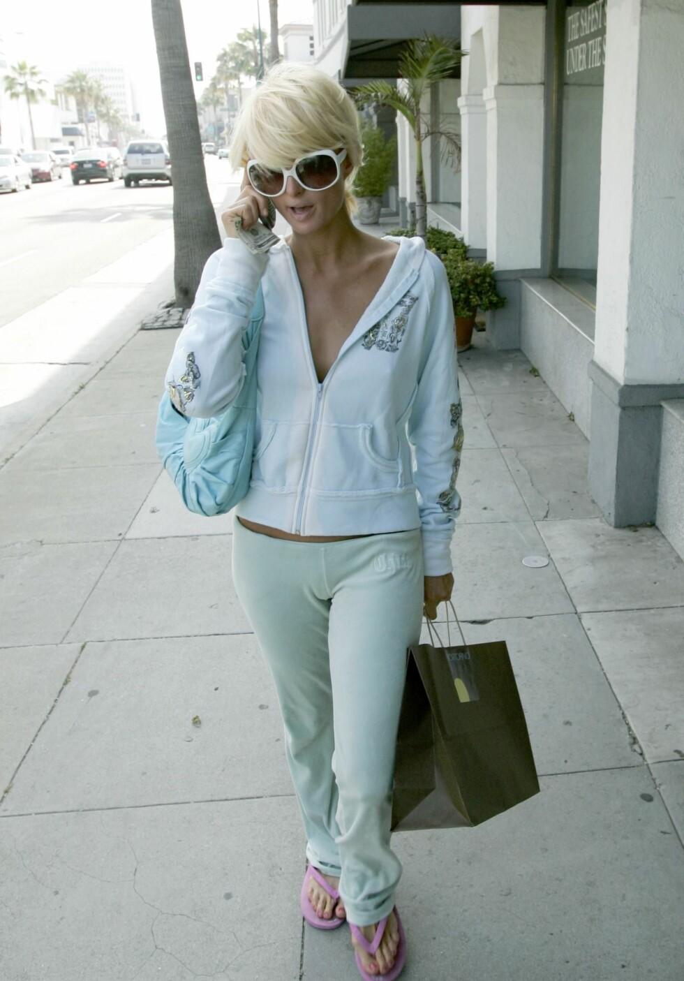 Paris Hilton på shopping i Beverly Hills. Ikke noe uvanlig syn.
