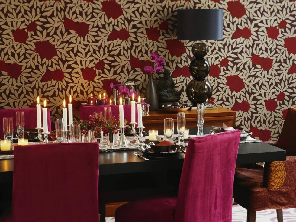 Barokk bord- dekking