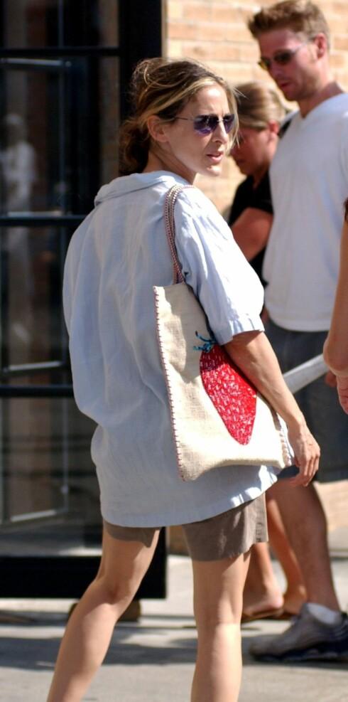 Shoppingklar Sarah Jessica Parker.