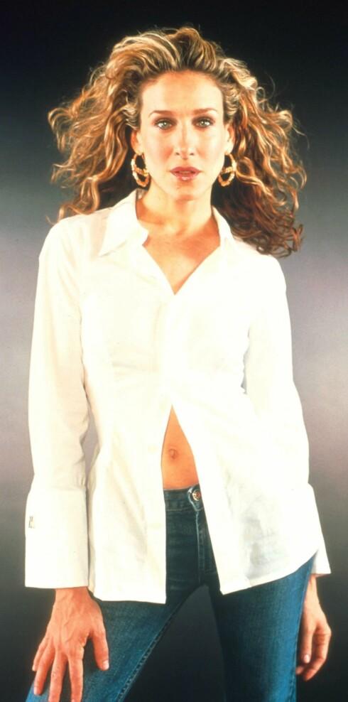 Sarah Jessica Parker som Carrie Bradshaw.