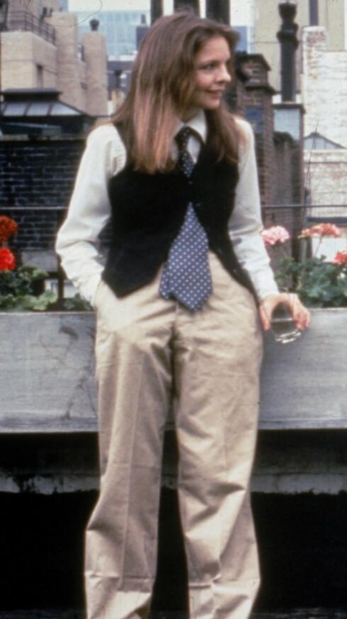 Filmen Annie Hall fra 1977, gjorde Keaton til et stilikon.