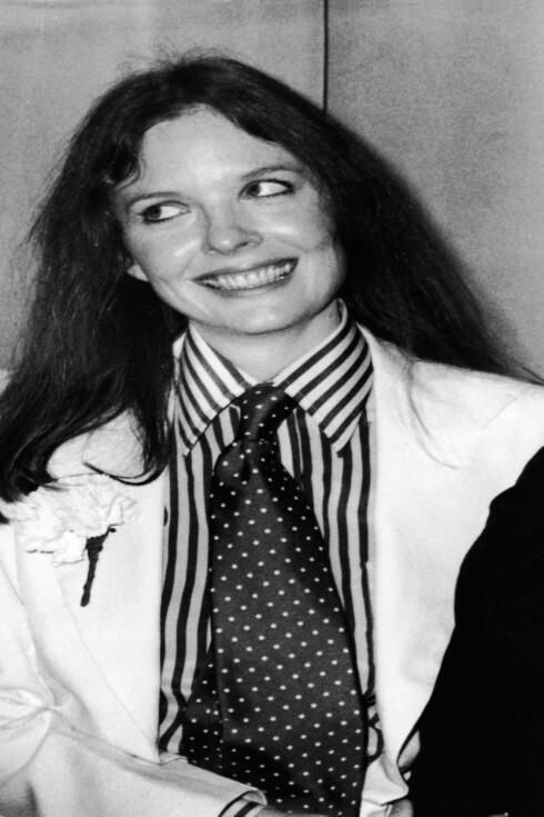 Skuespilleren Diane Keaton har alltid likt skjorter. Her fra 80-tallet.