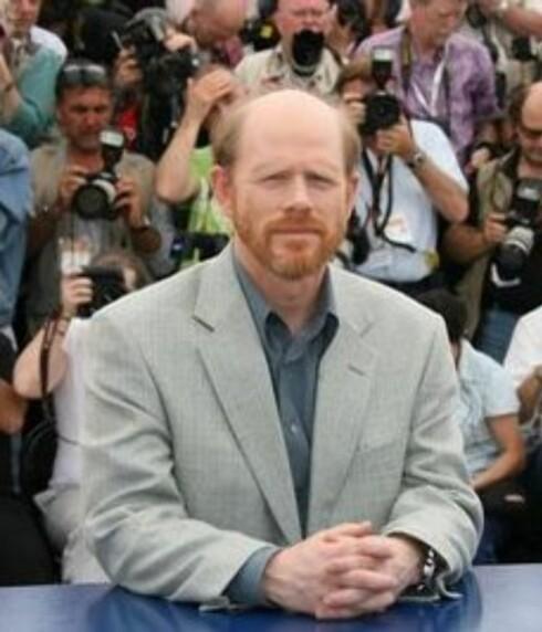 Regissør Ron Howard møtte pressen, og understreket at Da Vinci-koden er ment som ren underholdning.