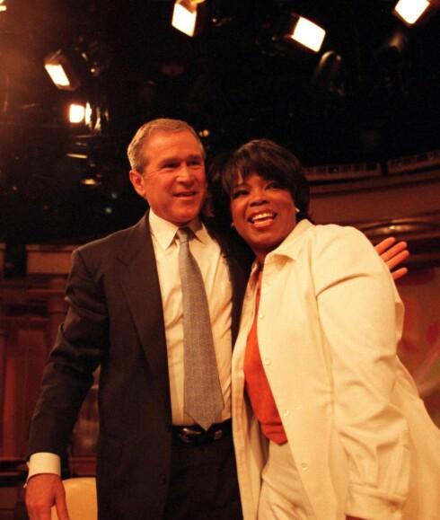 Alle vil være gjest hos Oprah - også George W. Bush.