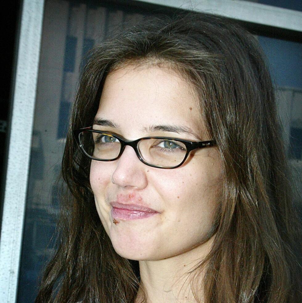Nybakt mamma og Tom Cruise-kjæreste Katie Holmes.