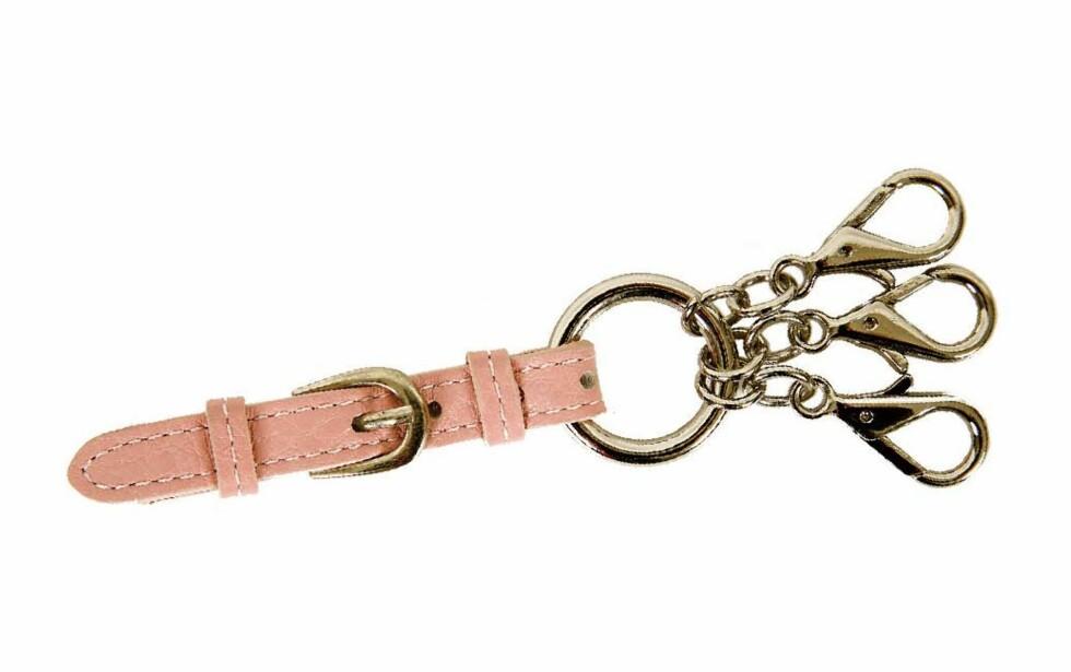 Flott nøkkelring (kr 450, Gant).