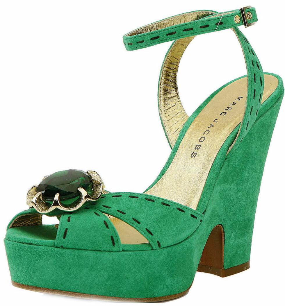 Grønne sko fra Marc Jacobs  (kr 2100)
