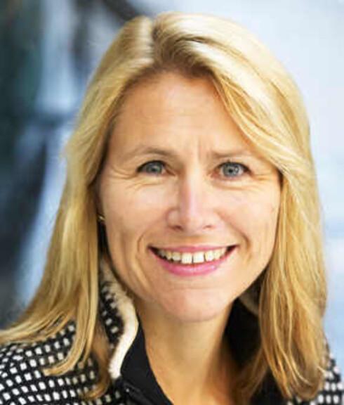 Microsoft-direktør Grete Faremo er for kvotering av kvinner. Foto: Microsoft
