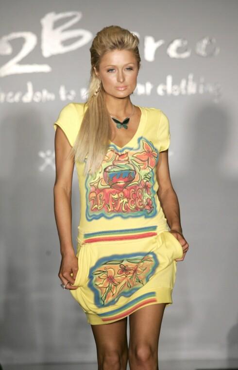 Fargerik som Paris Hilton