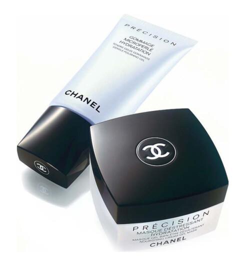 EKSTRA FUKTIG. Serien Précision fra 0, Body Shop).Chanel er en peeling og maske med myefuktighet. Gentle Polishing Gel (kr 330/75 ml) og Nourishing Cream Gel Mask(kr 375/50 ml).