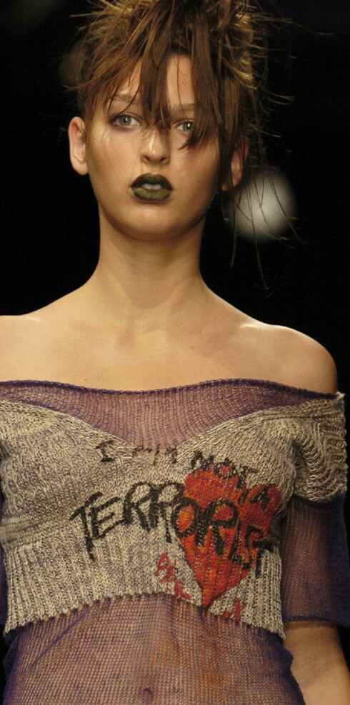 Vivienne Westwood vår- sommer 2006.