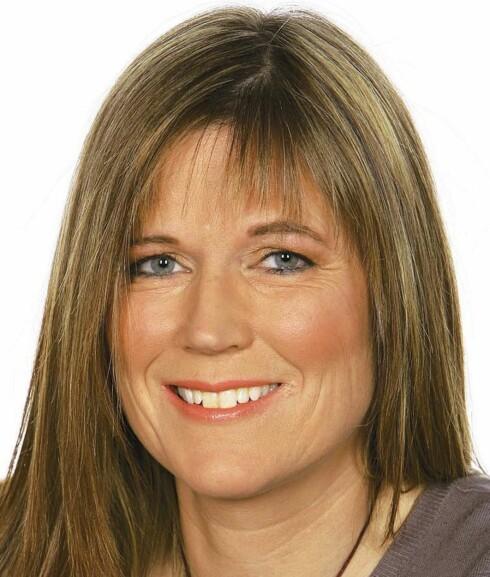 ETTER: - Jeg er virkelig kjempefornøyd med håret, sier Ann Kristin entusiastisk.