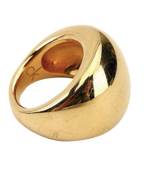 Metallic-fargede detaljer kan det ikke bli for mye av denne sesongen, som for eksempel denne bronseringen (kr 710, CK).