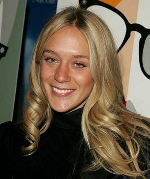 Skuespilleren og trendsetteren Chlöe Sevigny har en look uten mye makeup.