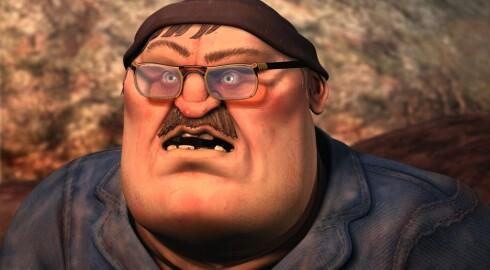Hold Brillan har fått navnet sitt etter utropet han kommer med like før han klinker ned folk.