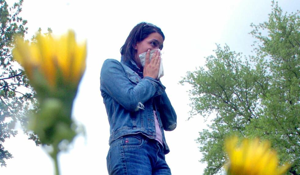 Unngå pollenplagene