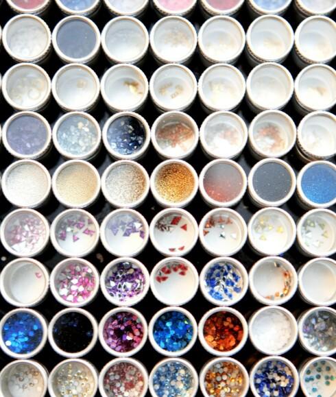 Man kan selv velge dekor blant en mengde mønstere og farger.