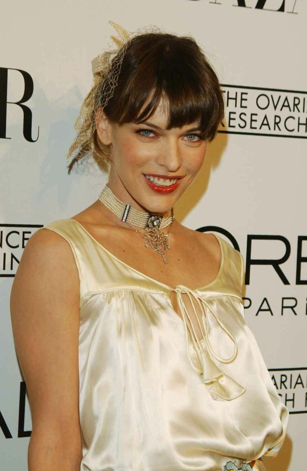 Modellen og designeren Milla Jovovich.