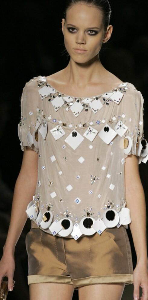 Louis Vuitton vår- sommer 2006.