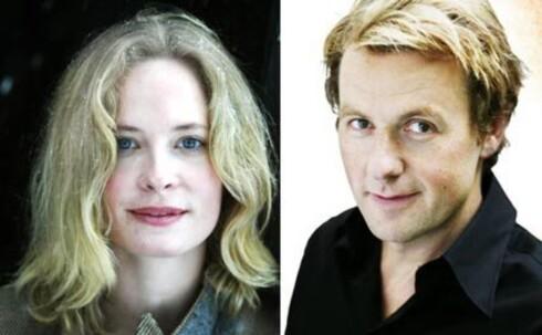 Nytt superpar: Maria Bonnevie og Fredrik Skavlan.