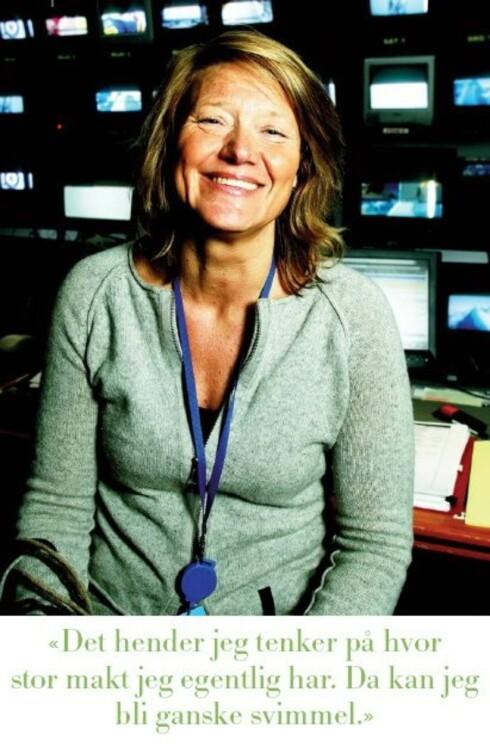 TV-sjef Annika Biørnstad bestemmer over din hverdag foran skjermen. (Faksimile: KK)