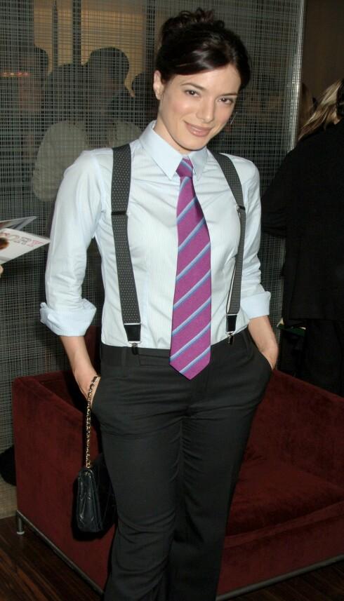 Skuespilleren Jamie Murray har på seg den siste trendlooken.