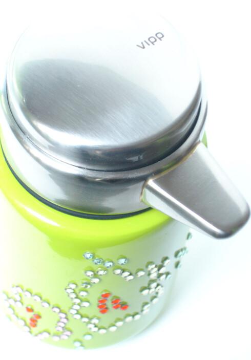 Vipp-bøtten, i lys limegrønn farge.